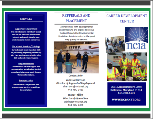 Career Development Program Brochure