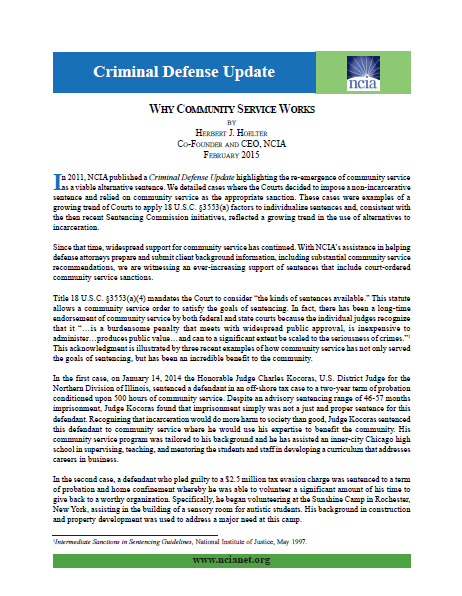 Criminal Defense Update February 2015 2